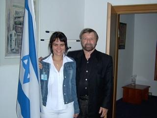 W ambasadzie Izraela
